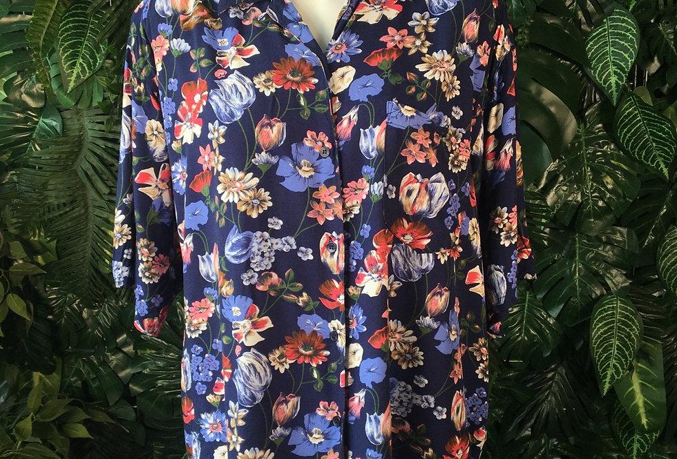 Hunters Run floral blouse (L)
