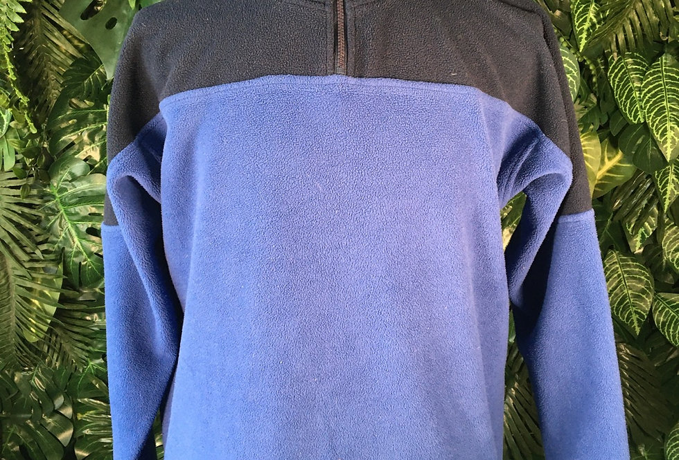 Tom Taylor two tone fleece pullover (L)