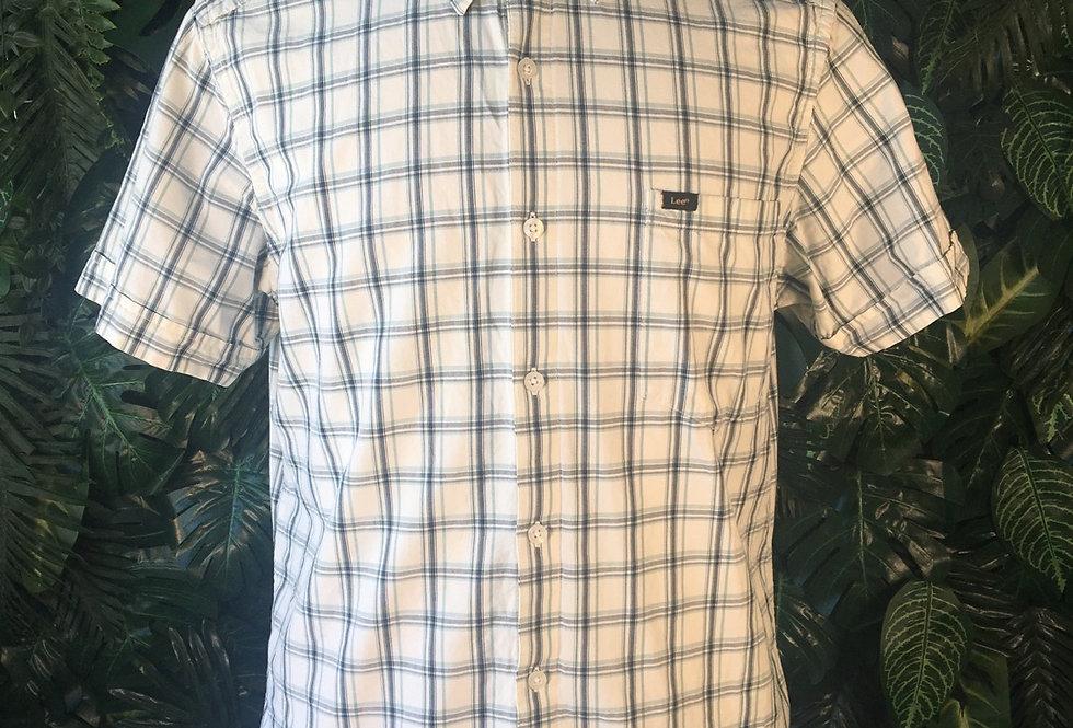 Lee Jeans plaid shirt (L)