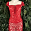 Thumbnail: Red leatherette & lace bodice