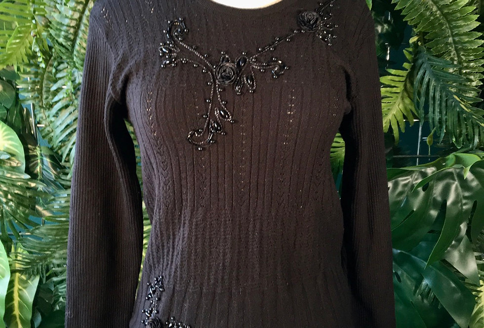Rumeysa Embroidered Knit (S)
