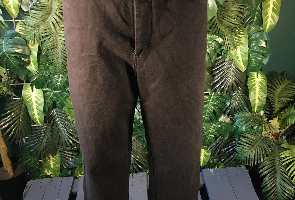 Lee black jeans (size 10)