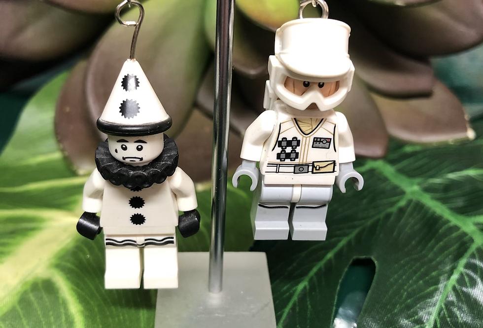 Lego men earrings (3 styles)