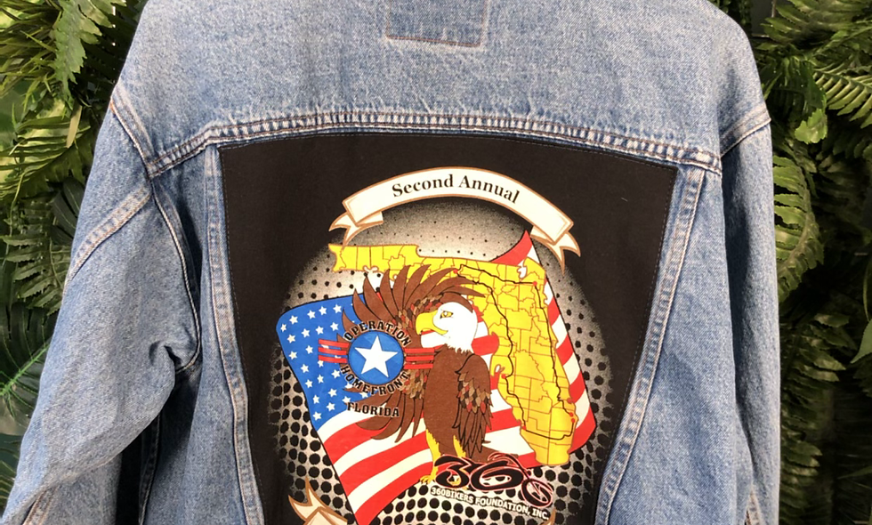 Bikers denim jacket