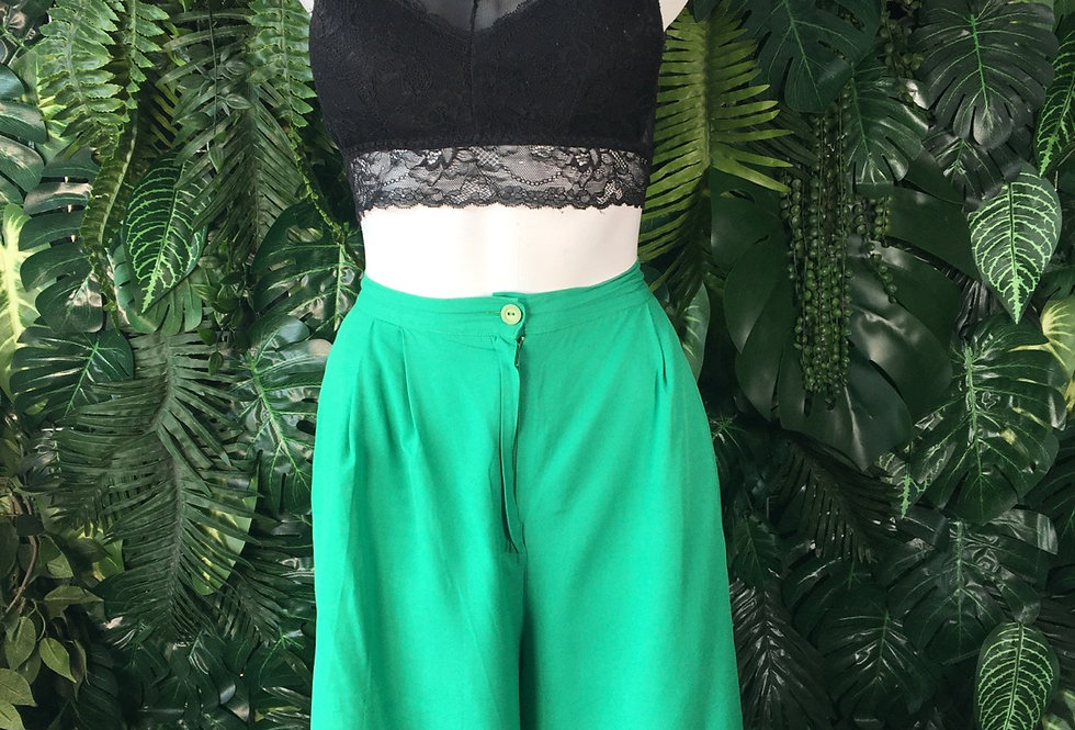 Green culottes  (size 16)