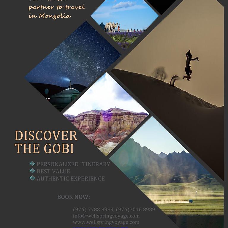 Discover the Gobi