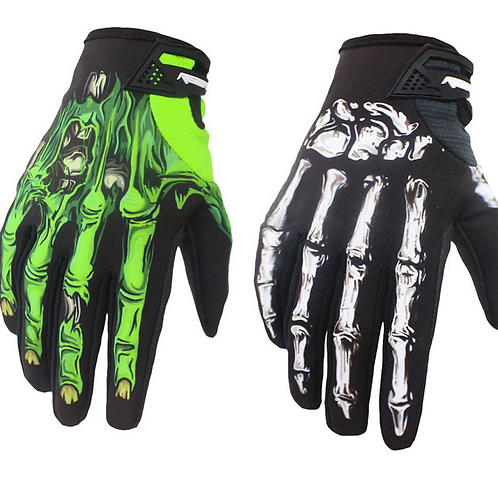 Walking Dead Motocross Gloves