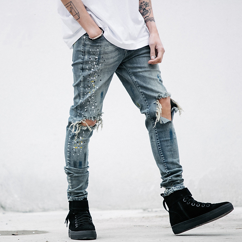 Michelangelo Distressed Denim