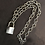 Thumbnail: Padlock Chain Necklace