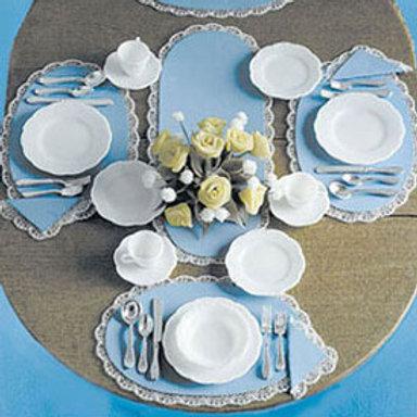 Dinnerware and Silverware Kit