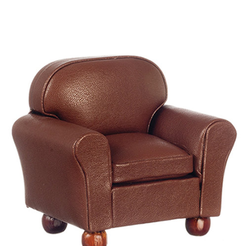 Leather Chair-Brown