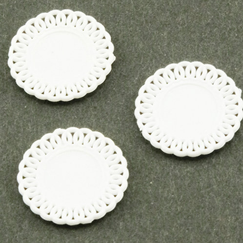 Lace Edged Plates