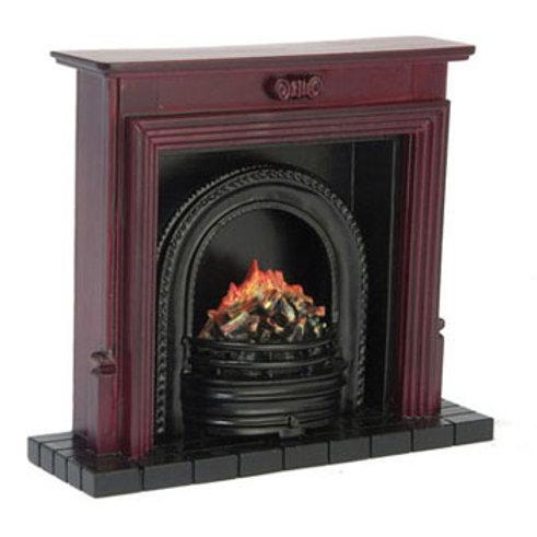 Fireplace-Walnut