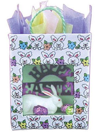 Easter Scene In Gift Bag