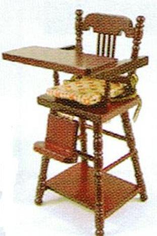 High Chair-Pine