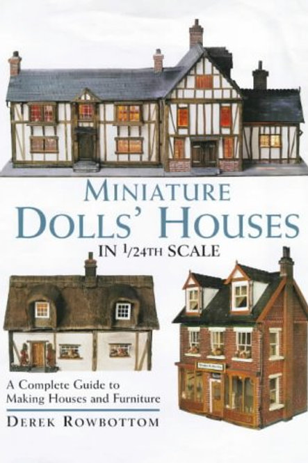Miniature Doll's Houses in 1/24th Scale