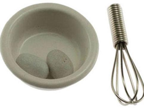 Bowl, Eggs & Wisk