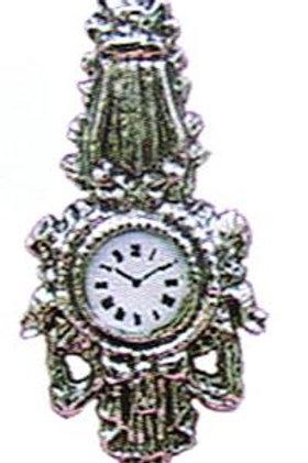 Wall Clock-Silver