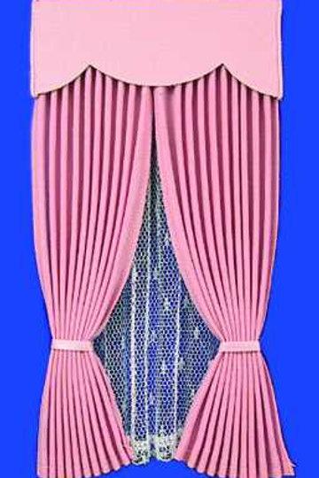 Draperies-Pink