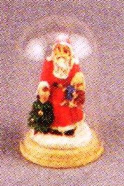 Santa in Glass Dome