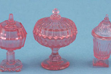 Candy Dishes-Pink