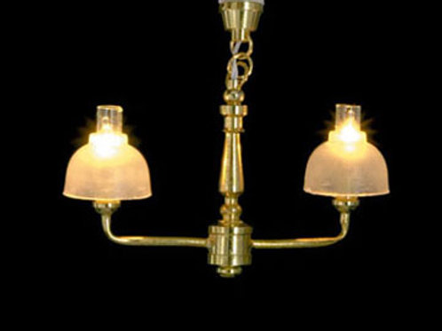 Chandelier-Brass