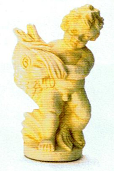 Garden Cherub-Ivory