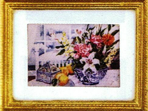 Painting-Bowl of Flowers