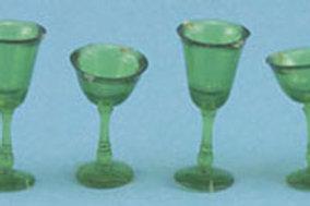 Stemware-Green