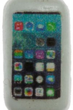 Cell Phone-White-IM65581