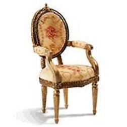 Resin Loius XVI Chair
