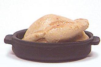 Chicken in Black Pan
