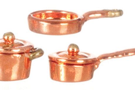 Copper Casserole Set-AZG8168