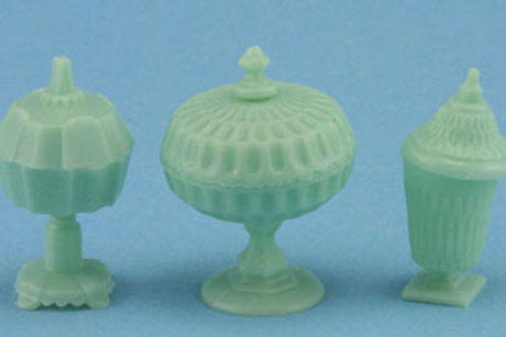 Candy Dishes-Jadite