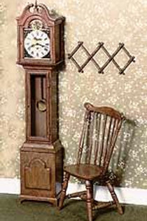 Grandfather Clock-Brown