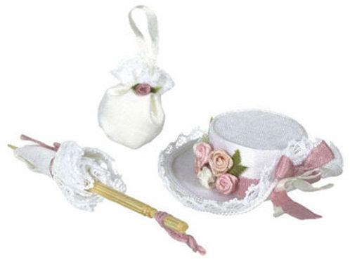 Hat Set-White