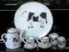 Cow Coffee Set