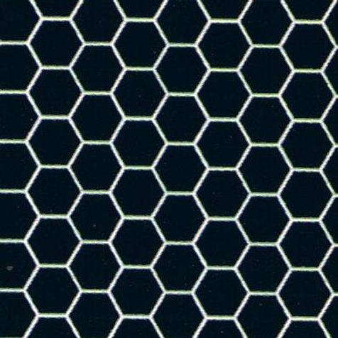 Tile-Black Hexagon-MH5915