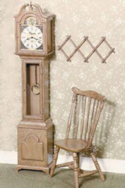 Grandfather Clock-Brown
