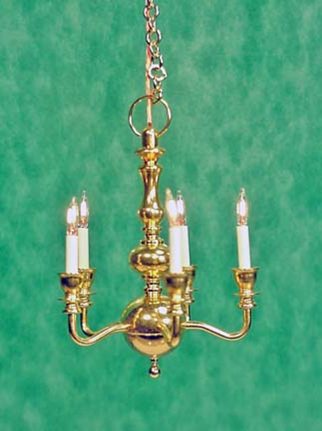 Chandelier-Brass