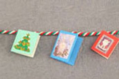 Christmas Cards on String