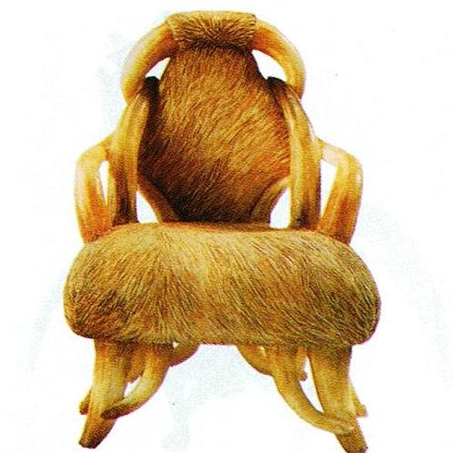 Resin Longhorn Chair