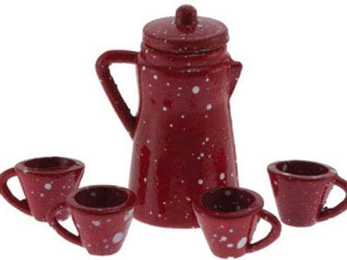 Spatterware-Red