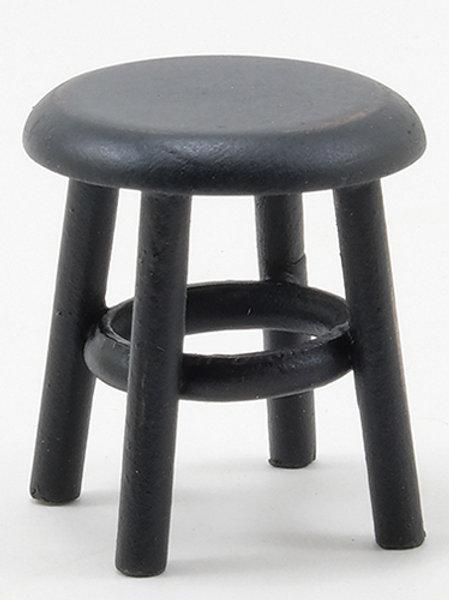 Stool-Black Distressed-CLA10900