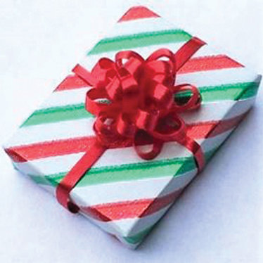 Striped Christmas Gift-CLD604