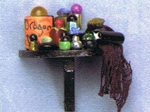 Magic Potion Half Round Shelf