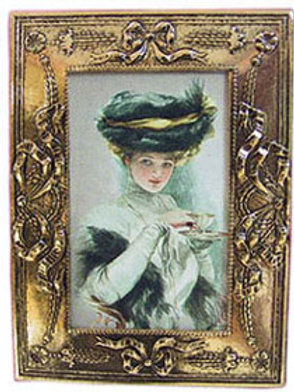 Lady with Tea Cup