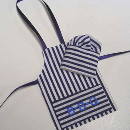 BBQ Apron and Hat