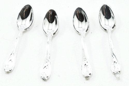 Teaspoons-Silver