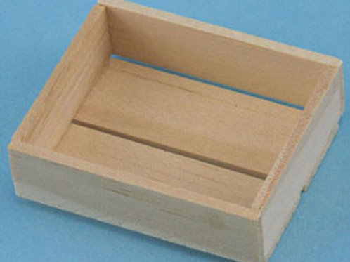 Slat Wood Crate-IM65431